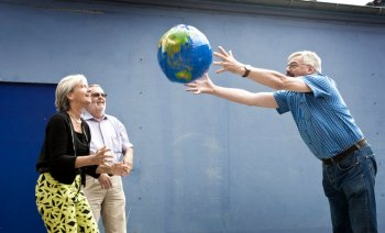 Foto fra omtalen i Kristeligt Dagblad 3/09, Leif Tuxen
