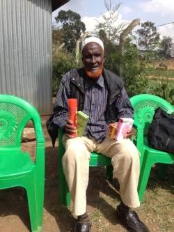 Ældre i dagcenter Nairobi Kenya