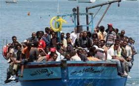 Flygtninge ved Lampedusa - EU's ydre grænse