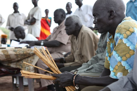 Informal Justice møde Sudan