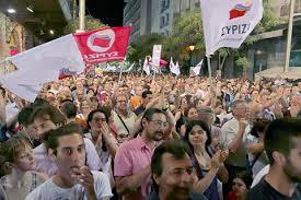 Grækerne på gaderne