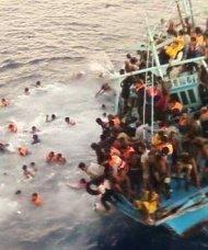 Flygtninge og druknedød