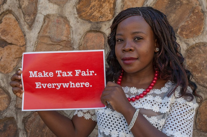 ACTION AID UK CAMPAIGNING TO STOP TAX DODGING IN MALAWI