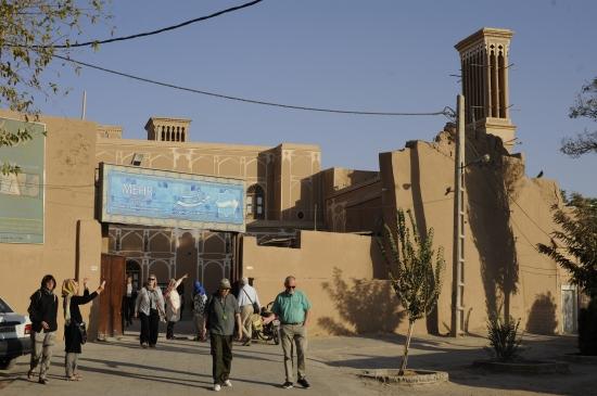 Vindtårne i Yazd